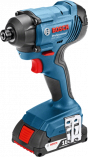 Multifunkční aku rázový utahovák Bosch GDR 180-LI Professional - 2x aku 18V/3.0Ah, 160Nm, 1.37kg, kufr, dárek Box na nářadí Toolbox PRO (0615990L2B) Bosch PROFI