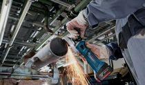Aku úhlová bruska Bosch GWS 18-125 V-LI Professional - 2x aku 18V/4.0Ah, 125mm, 2.3kg, kufr, dárek Box na nářadí Toolbox PRO (0615990L2D) Bosch PROFI