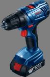 Aku vrtačka bez příklepu Bosch GSR18-2LI Plus Professional - 2x aku 18V/1.5Ah, 1.6kg, 13mm, v kufru, dárek Box na nářadí Toolbox PRO (0615990L29) Bosch PROFI