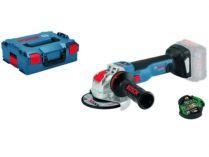 Bosch GWX 18V-10 SC (X-LOCK) Professional - 18V, 125mm, BT modul, kufr, bez aku