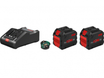 Bosch Startovací sada: 2× ProCORE18V 12.0Ah + GAL 18V-160 C Professional + 1× Bluetooth modul