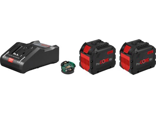 Bosch Startovací sada: 2× ProCORE18V 12.0Ah + GAL 18V-160 C Professional + 1× Bluetooth modul (1600A016GY) Bosch příslušenství
