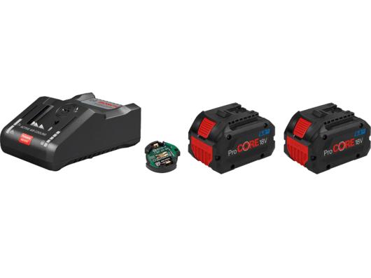 Bosch Startovací sada: 2× ProCORE18V 8.0Ah + GAL 18V-160 C Professional + 1x modul Bluetooth Low Energy GCY 30-4 (1600A016GP) Bosch příslušenství