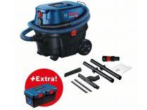 Průmyslový vysavač Bosch GAS 12-25 PL Professional - 1350W, 25l, 9kg, dárek