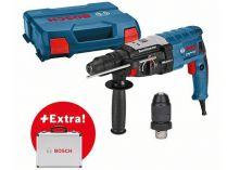 Vrtací a sekací kladivo Bosch GBH 2-28 F Professional - SDS-Plus, 880W, 3.2J, kufr, dárek