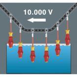 WERA 1165 i/7 Kraftform 6-dílná sada elektrikářských šroubováků VDE + zkoušečka 1000V (031576)