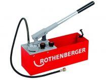Zkušební pumpa ROTHENBERGER RP 50-S - 12l, 8kg