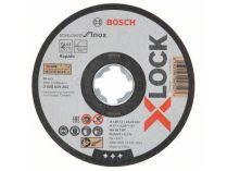10x Řezný kotouč X-LOCK Bosch Standard for Inox - 125x1.0x22.23mm, plochý