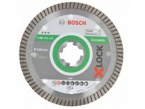 Diamantový kotouč X-LOCK Bosch Best for Ceramic Extra Clean Turbo, pr. 125x22.23x1.4/7mm