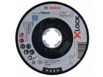 Řezný kotouč X-LOCK Bosch Expert for Metal - 115x2.5x22.23mm, plochý