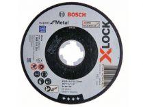 Řezný kotouč X-LOCK Bosch Expert for Metal - 125x1.6x22.23mm, plochý