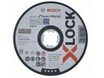 Řezný kotouč X-LOCK Bosch Expert for Inox+Metal - 125x1.0x22.23mm, plochý
