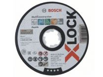 Řezný kotouč X-LOCK Bosch Multi Material - 125x1.0x22.23mm, plochý