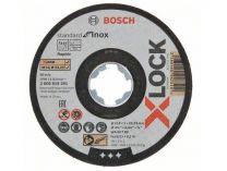 Řezný kotouč X-LOCK Bosch Standard for Inox - 115x1.0x22.23mm, plochý