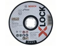 Řezný kotouč X-LOCK Bosch Expert for Inox - 125x1.6x22.23mm, plochý