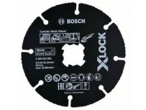 Řezný kotouč z tvrdokovu X-LOCK Bosch Carbide Multi Wheel - 115x1.0x22.23mm