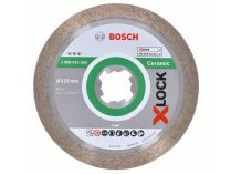Diamantový kotouč X-LOCK Bosch Best for Ceramic, pr. 125x22.23x1.6/10mm