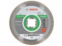 Diamantový kotouč X-LOCK Bosch Standard for Ceramic, pr. 125x22.23x1.6/7mm