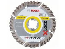 Diamantový kotouč X-LOCK Bosch Standard for Universal, pr. 125x22.23x2.0/10mm