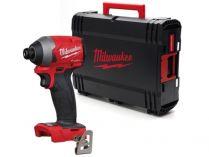 Milwaukee M18 FID2-0X - 18V, 226Nm, kufr, bez aku, bezuhlíkový multifunkční aku rázový utahovák