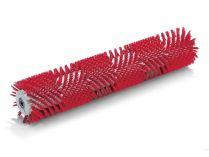 Válcový kartáč pro vysokotlaké čističe Kärcher - 1118mm, střední, červený
