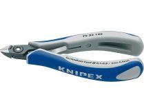 Kleště štípací boční KNIPEX - 120mm, přesné, pro elektroniku, mini hlava, vícesložkové