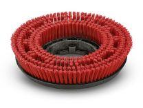Kotoučový kartáč pro vysokotlaké čističe Kärcher - 550mm, střední, červený