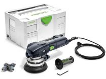 Festool RG 80 E-Set SZ RENOFIX - 1100W, 80mm, 3.2kg, kufr, diamantová bruska na beton