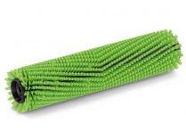Válcový kartáč pro vysokotlaké čističe Kärcher - 400mm, středně tvrdý, zelený
