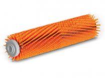 Válcový kartáč pro vysokotlaké čističe Kärcher - 550mm, oranžový