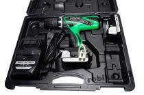Hitachi DS14DSFL aku vrtačka bez příklepu 2x aku 14.4V/1.5Ah Li-Ion, 37Nm, 1.5kg, v kufru