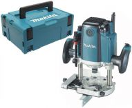 Horní frézka Makita RP1800FXJ - 1850W, 12/70mm, 6kg, kufr Systainer Makpac