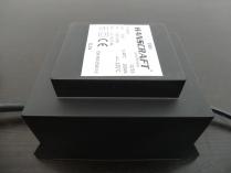Zalitý bezpečnostní transformátor 200VA (230-11.5V) k bazénům HANSCRAFT 2.1kg