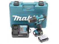 Makita DF333DSAE - 2x 12V/2.0Ah, 30Nm, 2 rychl., 1.2kg, kufr, aku vrtačka bez příklepu