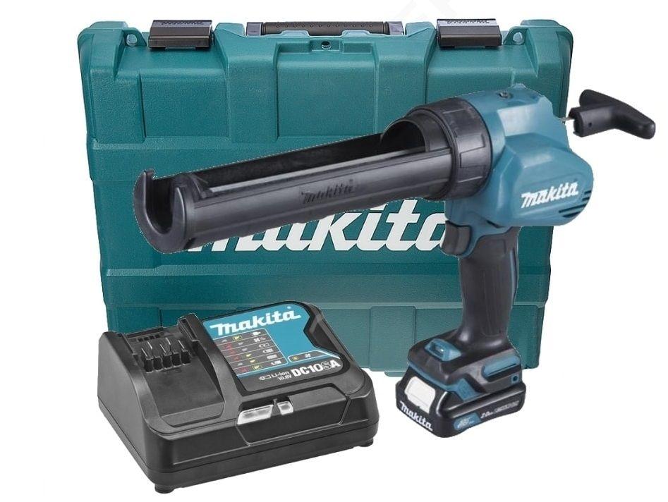 Aku vytlačovací pistole na tmely Makita CG100DSAA pro náplně 300ml, 1x aku 10.8/12V/2.0Ah