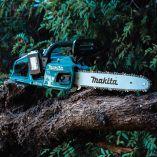 Bezuhlíková aku řetězová pila Makita DUC355Z - 2x 18V, 35cm, 4.8kg, bez akumulátoru a nabíječky