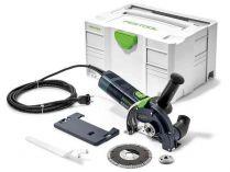 Festool DSC-AG 125 FH-Plus - 1400W, 125mm, 2.9kg, kufr, diamantová řezačka s odsáváním