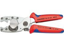 Kleště na řezání trubek KNIPEX - 185mm, k řezání vícevrstvých trubek Ø 12-25mm a pružných chrániček