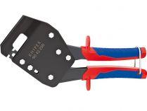 Kleště na spojování profilů KNIPEX - 250mm, pro U- a C-profily s tloušťkou plechu max. 1.2mm (2x0.6)