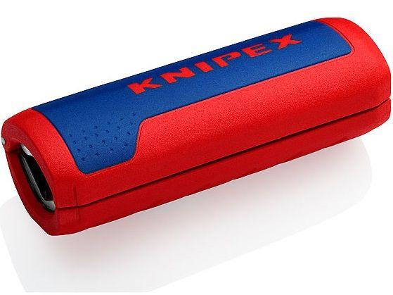 KNIPEX TwistCut - kleště odizolovací - 100mm - pro vlnité trubky s Ø 13–32mm (902201SB)