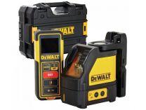 Křížový laser DeWALT DW0889CG-XJ + Dálkoměr DeWALT DW099E