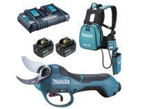 Aku nůžky na vinnou révu Makita DUP362PT2 - 2x 18(36)V/5.0Ah, 33mm, 3.9kg, transportní taška