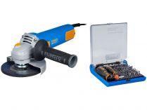 Úhlová bruska Narex EBU 125-10 - 125mm, 950W, 2kg, dárek: 73-Tool Box MICRO