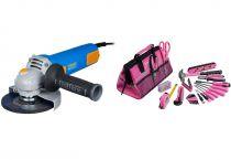 Úhlová bruska Narex EBU 125-10 - 125mm, 950W, 2kg, dárek: LADY TOOL KIT