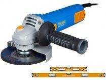Úhlová bruska Narex EBU 125-10 - 125mm, 950W, 2kg, dárek: VVX-DOUBLE SET