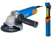 Úhlová bruska Narex EBU 125-10 - 125mm, 950W, 2kg, dárek: LX LED 270