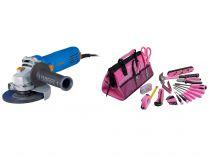 Úhlová bruska Narex EBU 125-7 - 125mm, 720W, 1.7kg, dárek: LADY TOOL KIT