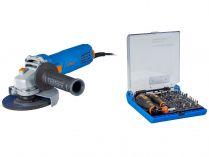 Úhlová bruska Narex EBU 125-7 - 125mm, 720W, 1.7kg, dárek: 73-Tool Box MICRO