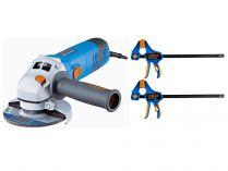 Úhlová bruska Narex EBU 125-14 CE s regulací otáček, 125mm, 1400W, 2.3kg, dárek: RSX ...