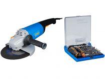 Úhlová bruska Narex EBU 230-26 - 2600W, 230mm, 6.0kg, dárek: 73-Tool Box MICRO